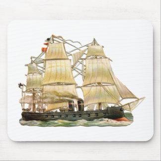 Mousepad Navio antigo