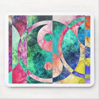 Mousepad Nebulosa abstrata de Yin Yang