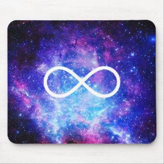 Mousepad Nebulosa do símbolo da infinidade