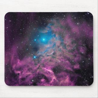 Mousepad Nebulosa flamejante da estrela