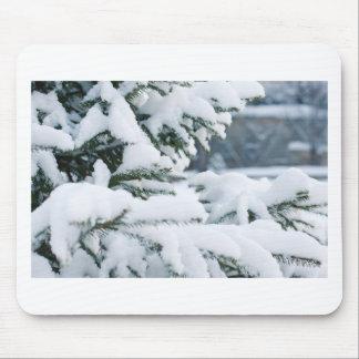 Mousepad Nevar da árvore da Noite de Natal