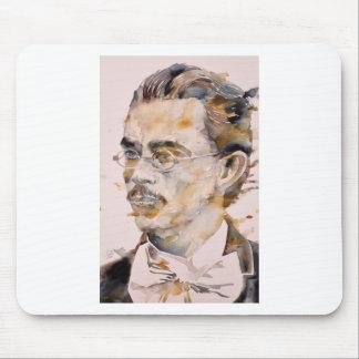 Mousepad nietzsche de Friedrich - aguarela portrait.2
