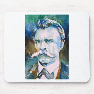 Mousepad nietzsche de Friedrich - retrato da aguarela