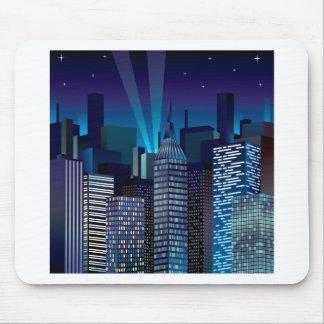 Mousepad NightCityScape_VectorDTL