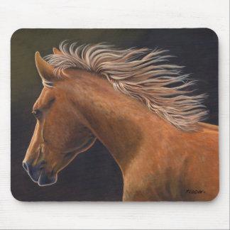 """Mousepad """"Nivelando"""" o cavalo de um quarto funcionado -"""