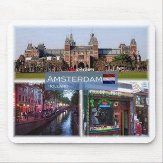 Mousepad NL Países Baixos - Amsterdão -