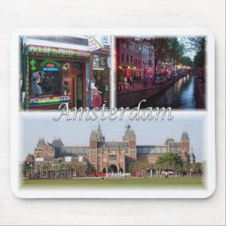 Mousepad NL Países Baixos - Oland - Amsterdão -