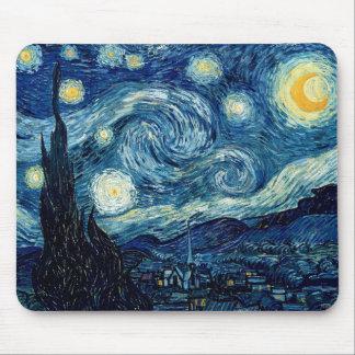 Mousepad Noite estrelado por Vincent van Gogh