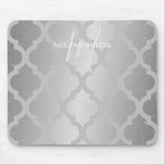 Mousepad - nome de prata da inicial da estrutura