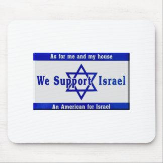 Mousepad Nós apoiamos Israel