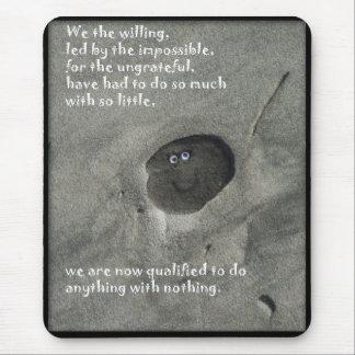 Mousepad Nós querer