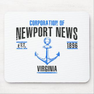 Mousepad Notícia de Newport
