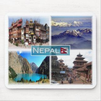 Mousepad NP Nepal - Boudha Stupa -