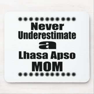 Mousepad Nunca subestime a mamã de Lhasa Apso