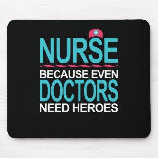Mousepad Nutra porque os doutores precisam heróis