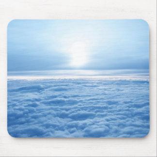 Mousepad Nuvens do céu do tapete do rato que relaxam
