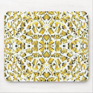 Mousepad O amarelo dá forma ao tapete do rato