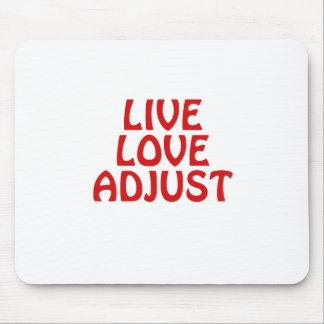 Mousepad O amor vivo ajusta
