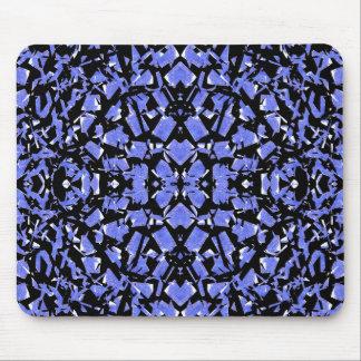 Mousepad O azul dá forma ao tapete do rato