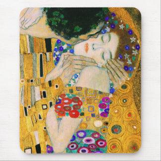 Mousepad O beijo por Gustavo Klimt