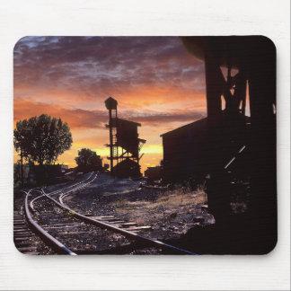 Mousepad O carvão Tipple no por do sol