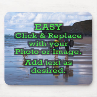 Mousepad O clique fácil & substitui a imagem para criar