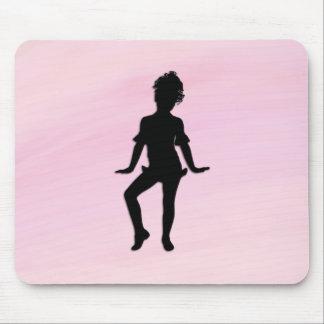 Mousepad O dançarino pequeno o mais bonito