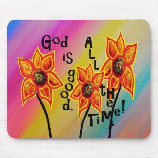 Mousepad O deus é bom todo o tempo