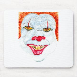 Mousepad O Dia das Bruxas Clown2 assustador