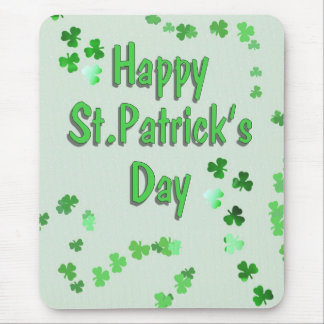 Mousepad O dia de St Patrick feliz