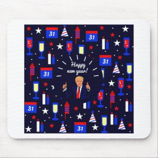 Mousepad o feliz ano novo Donald Trump