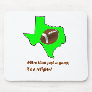 Mousepad O futebol em Texas é religião