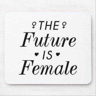 Mousepad O futuro é fêmea