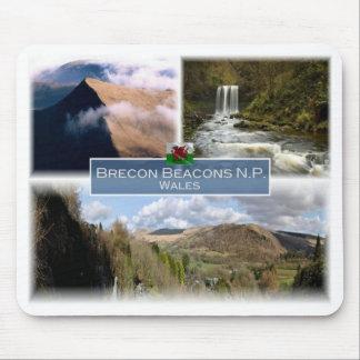 Mousepad O GB Reino Unido - Wales - o Brecon ilumina N.P