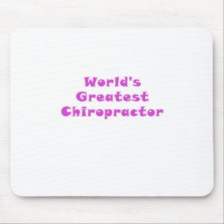 Mousepad O grande Chiropractor dos mundos