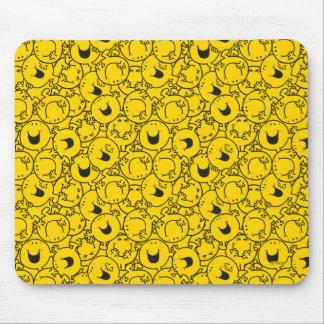 Mousepad O grupo do Sr. Feliz | de amarelo sorri teste