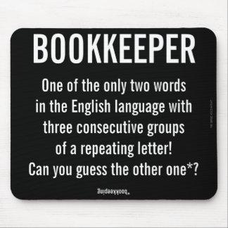"""Mousepad O """"guarda-livros é uma palavra original """""""
