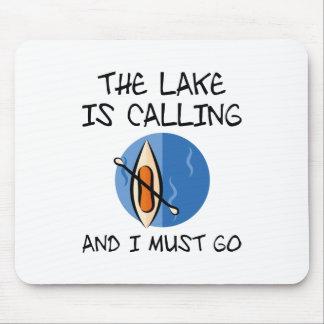 Mousepad O lago está chamando
