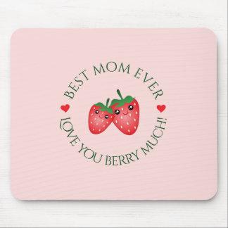 Mousepad O melhor amor do dia das mães da mamã nunca você