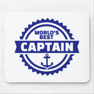 Mousepad O melhor capitão do mundo