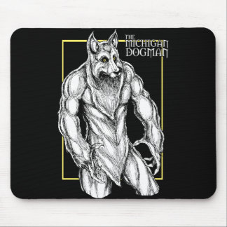 Mousepad O Michigan Dogman