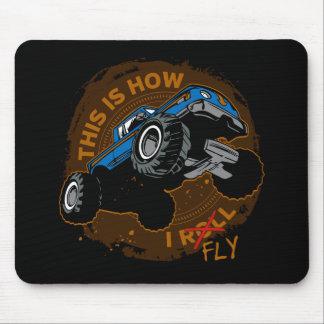 Mousepad O monster truck isto é como eu vôo