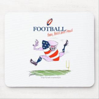 Mousepad O nascer do futebol produziu fernandes orgulhosos,