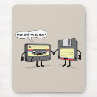 Mousepad O Obsoletes (cassete de banda magnética de disco