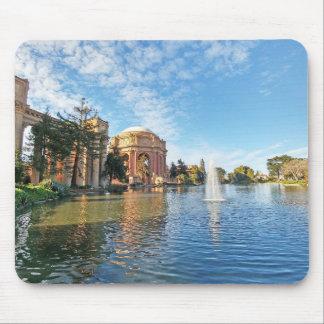 Mousepad O palácio das belas artes Califórnia