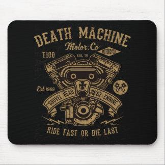 Mousepad O passeio do motor de Harley da máquina da morte