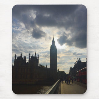 Mousepad O por do sol de Londres Reino Unido Big Ben