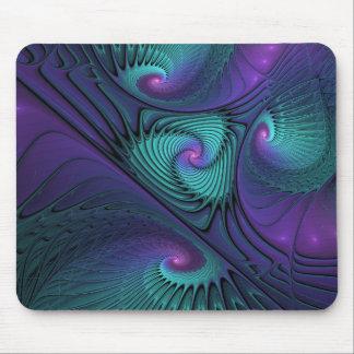 Mousepad O roxo encontra a arte abstrata moderna do Fractal