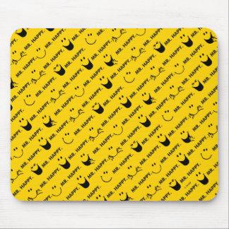 Mousepad O Sr. Feliz | todo sorri teste padrão