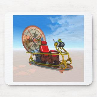 Mousepad O tapete do rato da máquina do tempo
